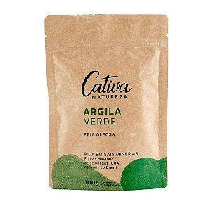 Argila Verde 100g - Cativa Natureza