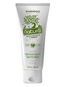 Shampoo Líquido Óleos de Coco e Argan 237mL - Natural