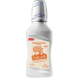 Enxaguante Bucal Extratos de Cúrcuma, Cravo e Melaleuca 250mL - Orgânico Natural