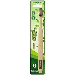 Escova Dental de Bambu - Orgânico Natural