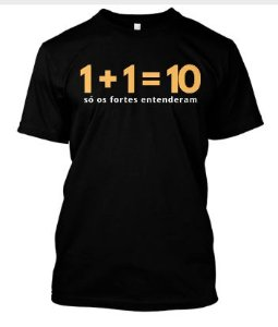 Camiseta 1 + 1
