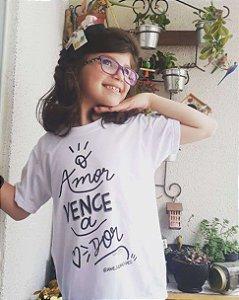 Camiseta #amejulianovaes Infantil