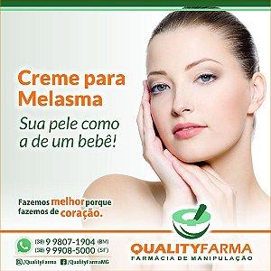 CREME PARA MELASMA - MANCHAS NO ROSTO 30g