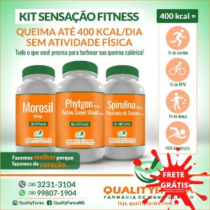 Kit Sensação Fitness