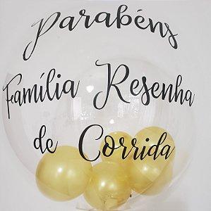 Balão Bubble Personalizado
