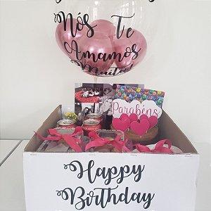Festa na Caixa Happy Birthday