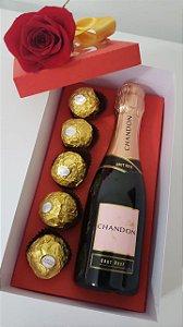 Caixa Mini Chandon com Chocolate