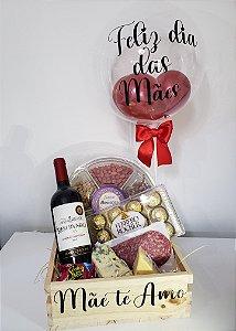 Dia das Mães Petiscos com Vinho