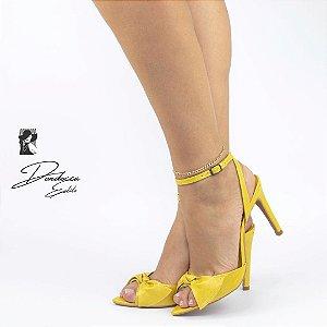 Sandália salto médio