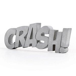 Escultura Decorativa Crash de Cimento Decorglass