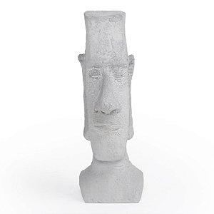 Escultura Decorativa Naoki de Cimento Decorglass