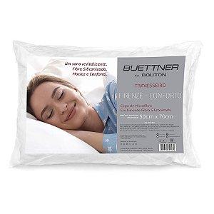 Travesseiro Microfibra Firenze Conforto Bouton