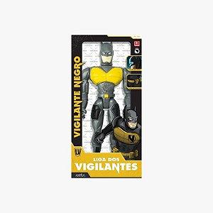 Boneco Articulado Vigilante Negro Grande Mielle Brinquedos
