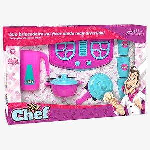 Brinquedo Big Chefe Kit 2 com 9 Peças Mielle Brinquedos