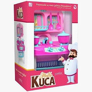 Fogãozinho Mestre Kuca com 8 Peças Mielle Brinquedos