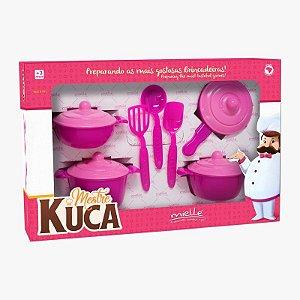 Panelinhas Mestre Kuca com 11 Peças Mielle Brinquedos