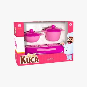 Panelinhas Mestre Kuca com 5 Peças Mielle Brinquedos
