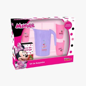 Kit Suquinho da Minnie 7 Peças Mielle Brinquedos