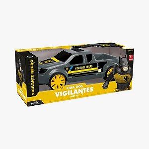 Pick Up Vigilante Negro Mielle Brinquedos