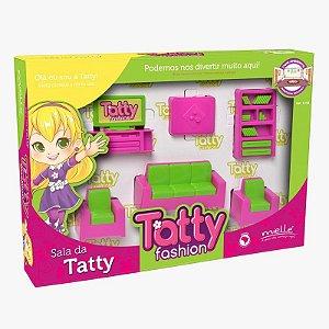 Mini Sala Tatty Fashion 6 Peças Mielle Brinquedos