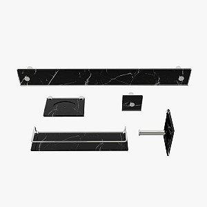 Kit Acessórios para Banheiro Marptogold 5 Peças VMEX