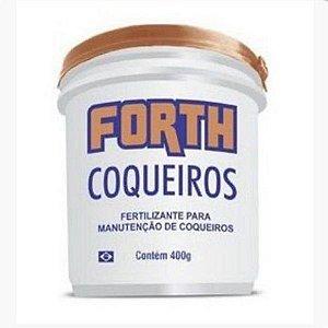 Fertilizante para Manutenção de Coqueiros 400g FORTH