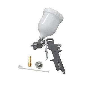 Pistola De Pintura Gravidade 600ml Pneumática NEU2009 Versa