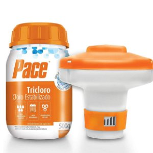 Kit Cloro 500g para Pequenas piscinas Pace