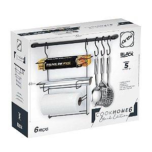 Kit Cozinha Suspensa Cook Home Black Edition 6 ARTHI