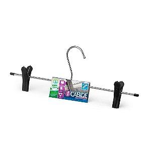 Cabide Organizador com Presilhas Aço Cromado ARTHI