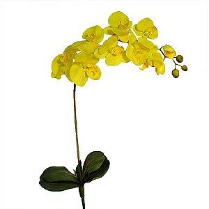 Orquídea Amarela Planta Permanente 90 cm Bela Flor