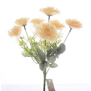 Buquezinho de Flores Creme Permanentes 30 cm Bela Flor