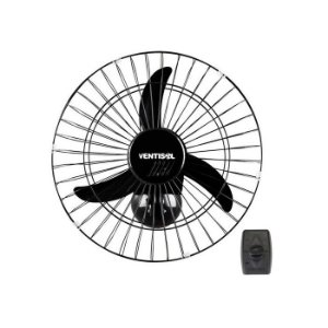 Ventilador Oscilante de Parede 60cm Bivolt Ventisol