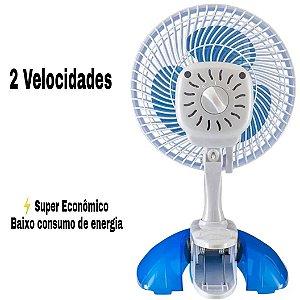Ventilador de Mesa Mini 20 cm 3 Pás Ventisol