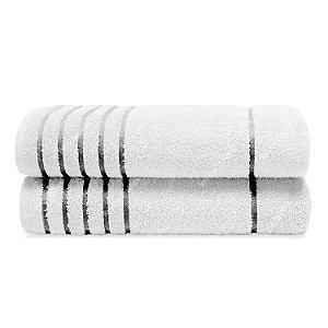 Toalha Cannes 81x150 Branco 1 Peça Bouton