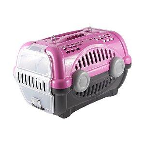 Caixa para Transporte Luxo N.2 Rosa Furacão Pet
