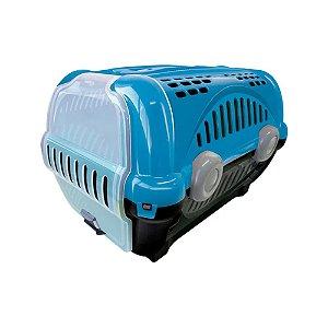 Caixa para Transporte Luxo N.1 Azul Escuro Furacão Pet