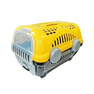 Caixa para Transporte Luxo N.1 Amarelo Furacão Pet