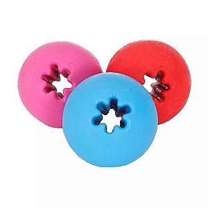 Brinquedo Bola Maciça Adestramento 60 mm Furacão Pet
