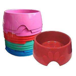 Comedouro Plástico Pop Número 4 1.900ml Furacão Pet