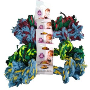 Brinquedo Dental Bone Algodão N4 G Furacão Pet