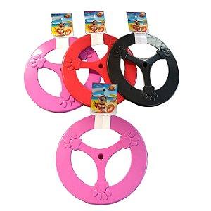 Brinquedo Pop Frisbee de Plástico para Cães 25cm Furacão Pet