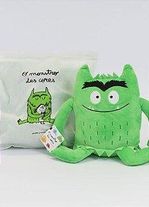 Pelúcia O monstro das cores - Verde (calma)