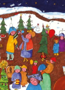 Porque colocamos estrelas nas árvores de natal