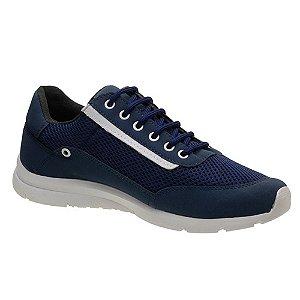 Tênis Masculino Caminhada Azul Torani SLZ