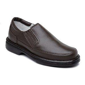 Sapato Casual Masculino Couro Preto ou Marrom Ranster