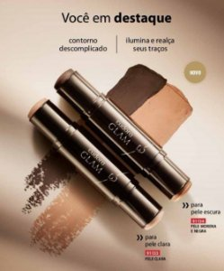 Contorno Facial Duo Stick Glam