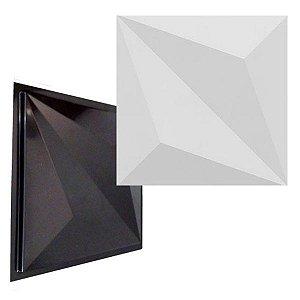 Forma Molde para Gesso 3D e Cimento Modelo Zara 33x33 ABS - Esquadro Perfeito