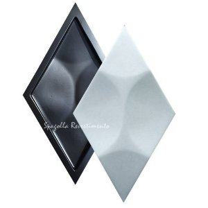 Forma Molde para Gesso 3D e Cimento Modelo Alomit 24x42 ABS - Esquadro Perfeito