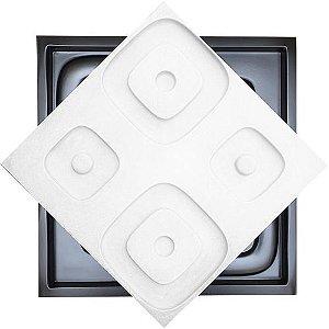 Forma Molde para Gesso 3D e Cimento Modelo Sondrio 49x49 ABS - Esquadro Perfeito